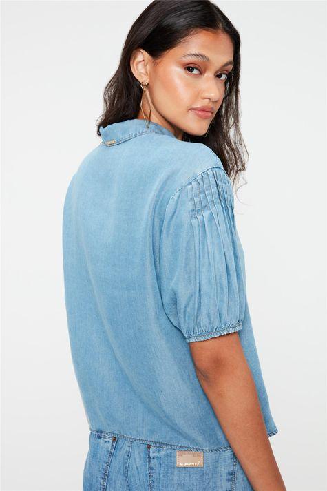 Camisa-Jeans-Manga-Curta-Bufante-Costas--