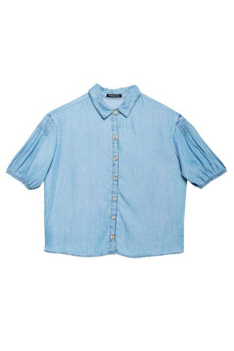 Camisa-Jeans-Manga-Curta-Bufante-Detalhe-Still--