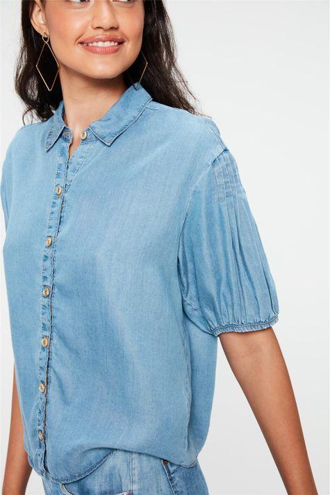 Camisa-Jeans-Manga-Curta-Bufante-Detalhe--