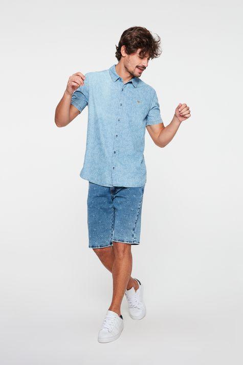 Camisa-Jeans-com-Estampa-Masculina-Detalhe-1--