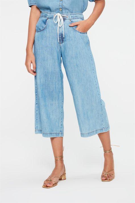 Calca-Jeans-Pantacourt-com-Cordao-Detalhe--
