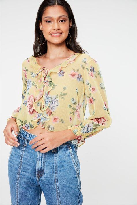 Blusa-com-Transparencia-e-Estampa-Floral-Detalhe-1--