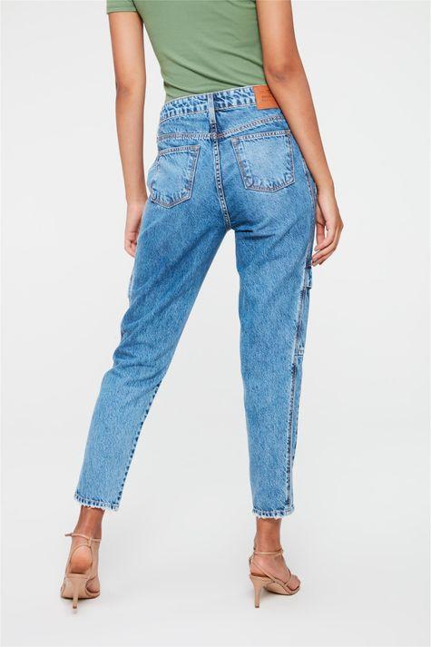 Calca-Jeans-Cargo-Cropped-Cintura-Alta-Costas--