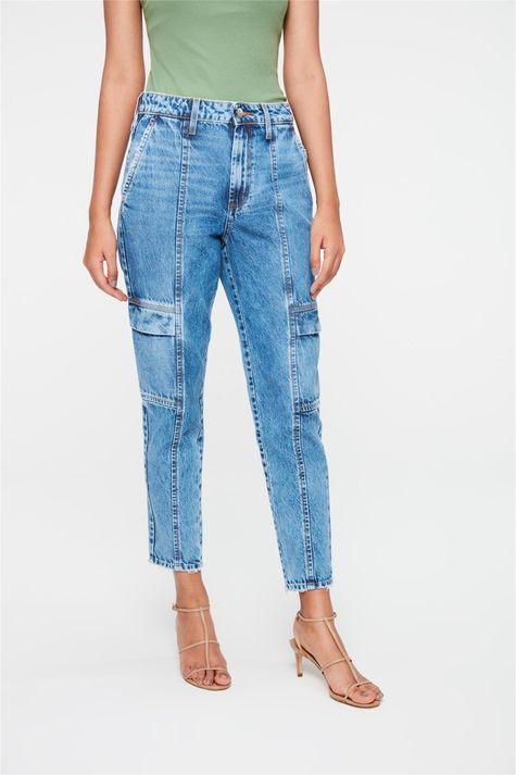 Calca-Jeans-Cargo-Cropped-Cintura-Alta-Detalhe--