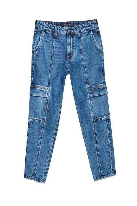 Calca-Jeans-Cargo-Cropped-Cintura-Alta-Detalhe-Still--