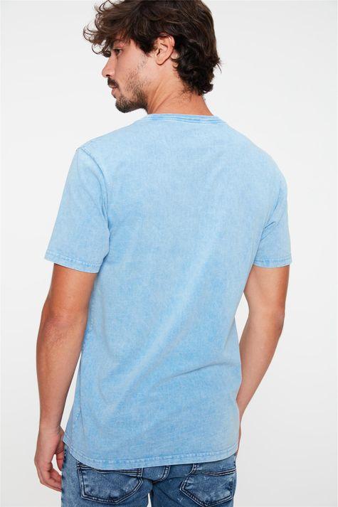Camiseta-Estonada-com-Estampa-Hard-Skull-Costas--