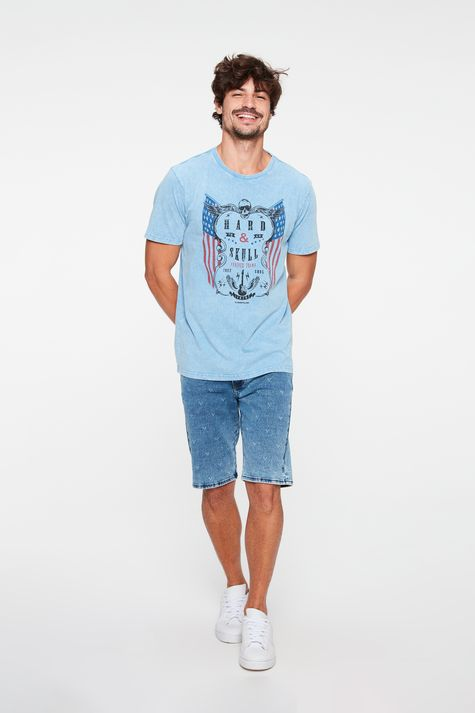 Camiseta-Estonada-com-Estampa-Hard-Skull-Detalhe-2--