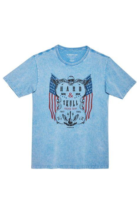 Camiseta-Estonada-com-Estampa-Hard-Skull-Detalhe-Still--