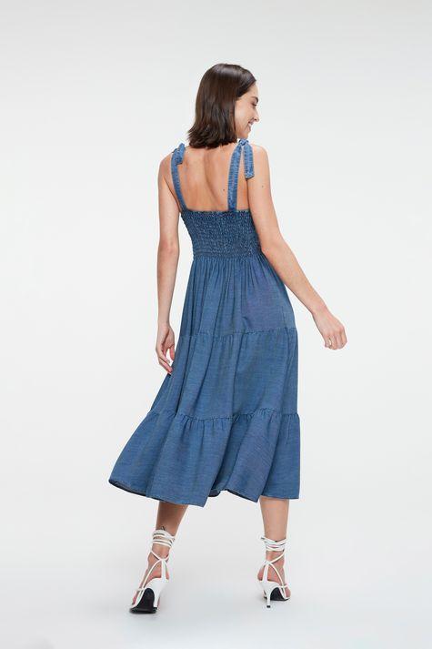 Vestido-Jeans-Midi-de-Camadas-Costas--