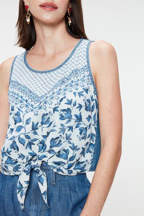 Blusa-sem-Mangas-Jeans-Estampa-Floral-Detalhe--