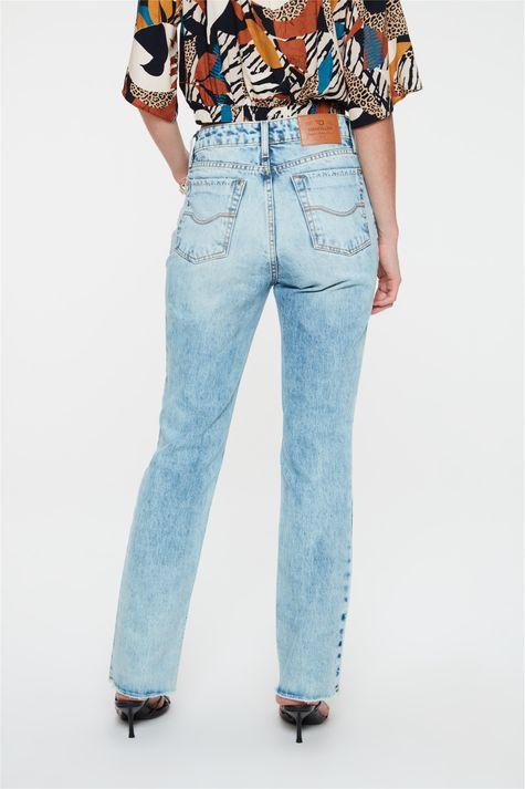 Calca-Jeans-Azul-Claro-Reta-Cintura-Alta-Costas--