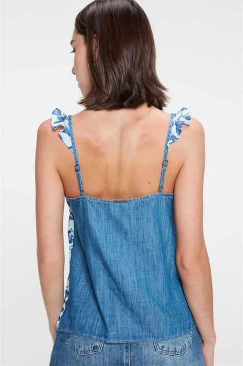 Blusa-Jeans-de-Alca-com-Estampa-Floral-Costas--