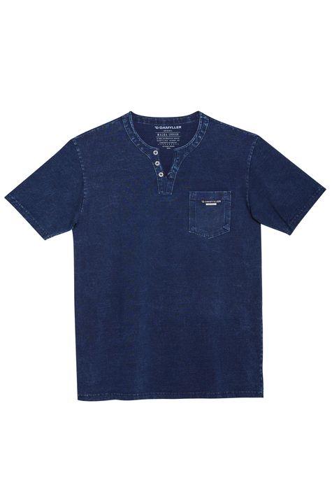 Camiseta-Henley-de-Malha-Denim-Masculina-Detalhe-Still--