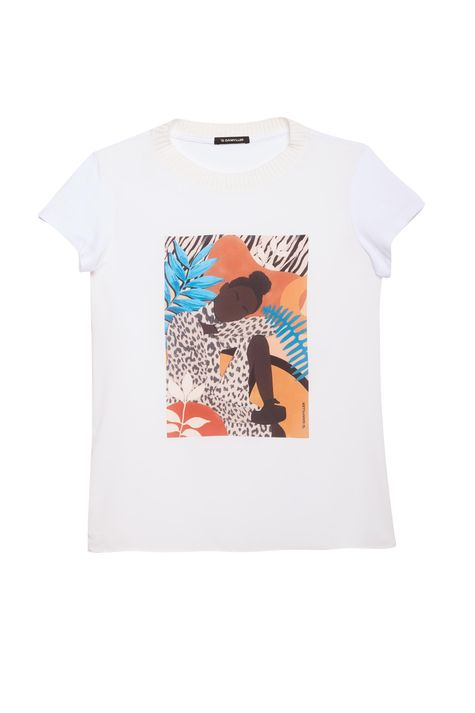 Camiseta-com-Estampa-Localizada-Feminina-Detalhe-Still--