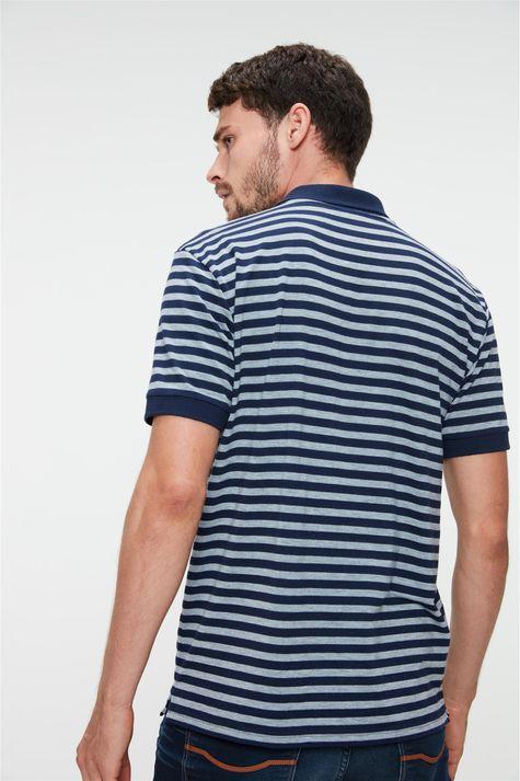 Camisa-Polo-Listrada-Masculina-Costas--