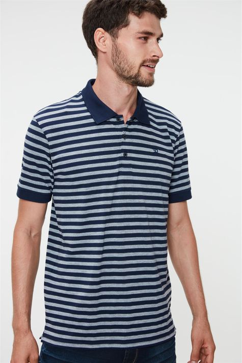 Camisa-Polo-Listrada-Masculina-Detalhe--