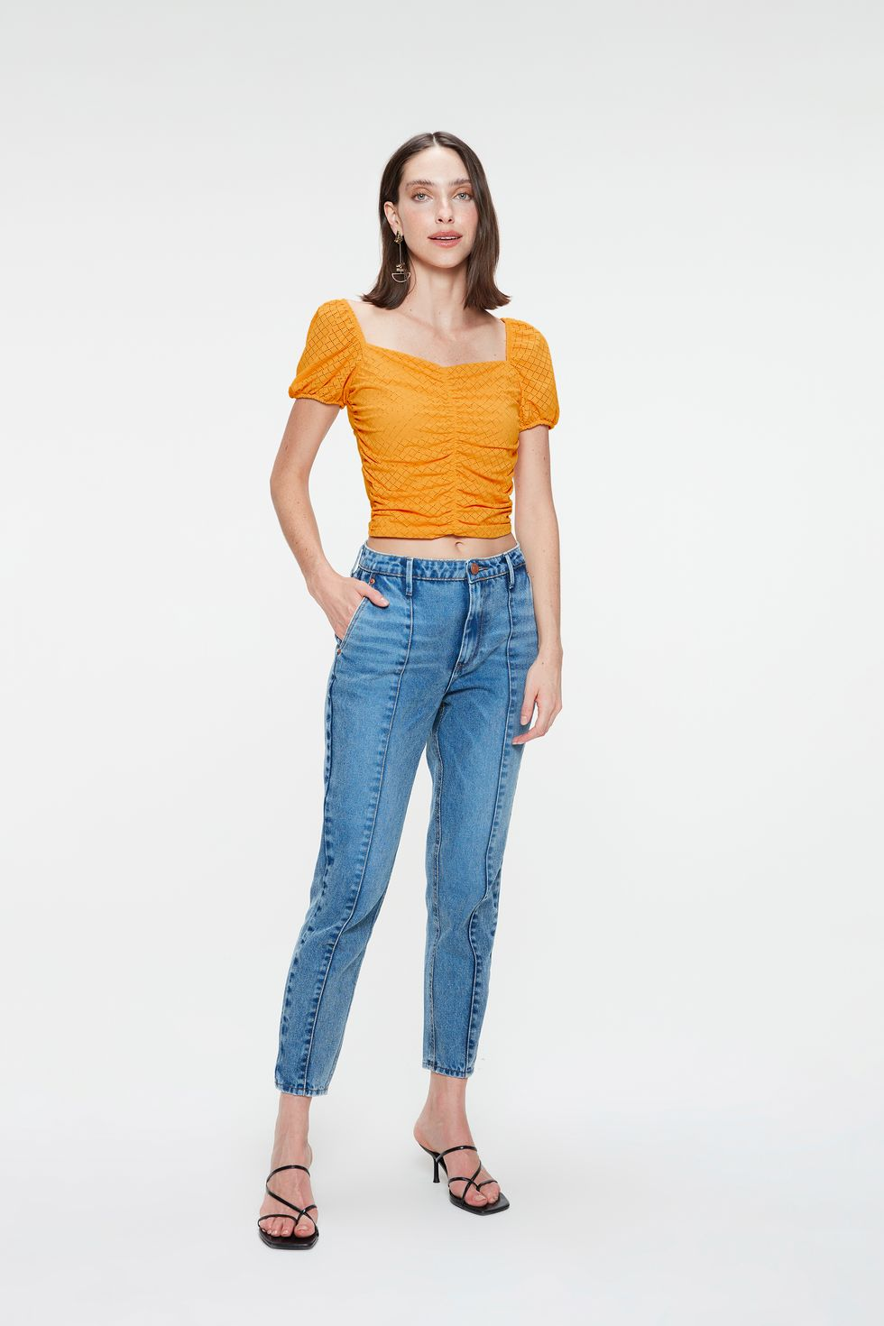 Calca-Jeans-Slim-Cropped-Cintura-Alta-Frente--