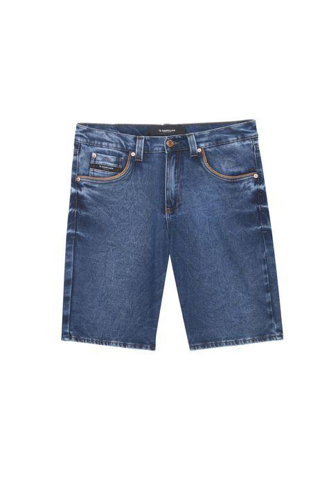 Bermuda-Jeans-Escuro-Skinny-Masculina-Detalhe-Still--