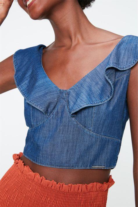 Blusa-Jeans-Cropped-com-Babados-Detalhe--