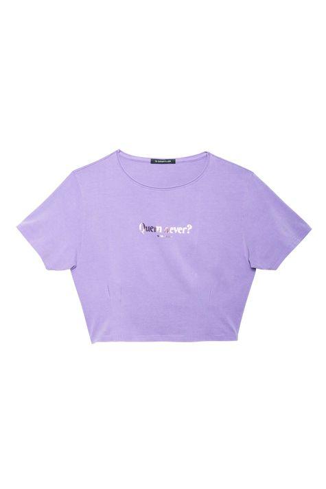 Camiseta-Cropped-com-Estampa-Quem-Never-Detalhe-Still--
