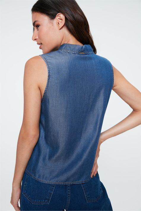 Camisa-Jeans-sem-Mangas-Feminina-Costas--