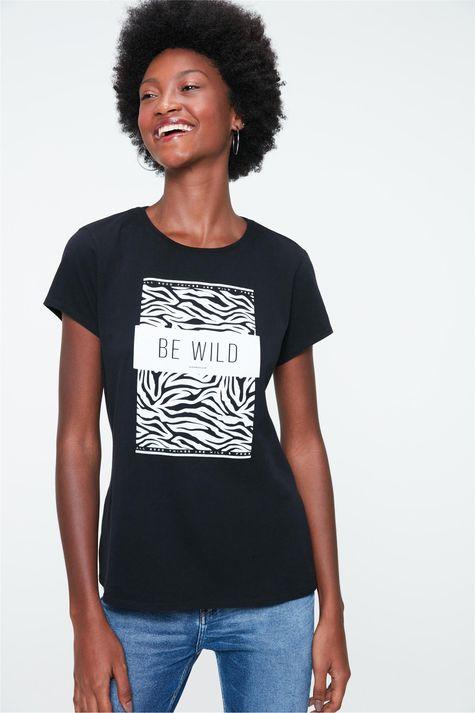 Camiseta-com-Estampa-de-Zebra-Feminina-Frente--