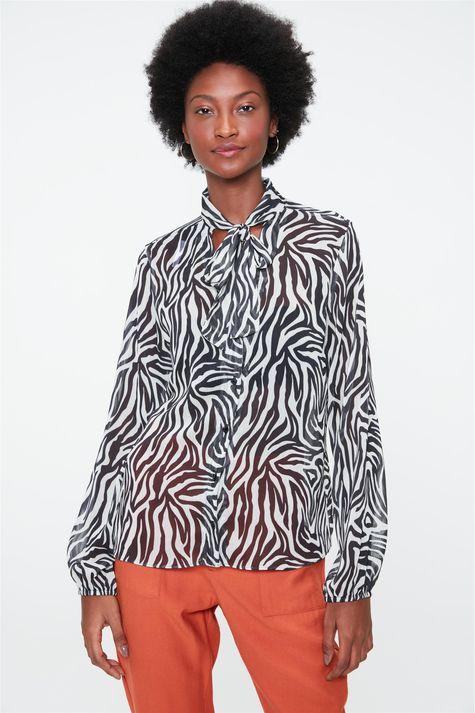 Camisa-Transparente-com-Estampa-de-Zebra-Frente--