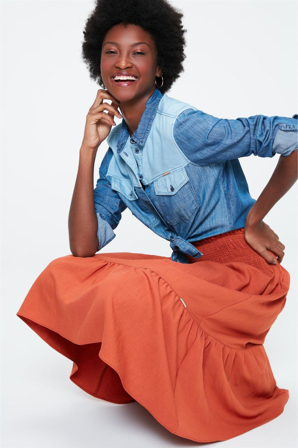 Camisa-Patchwork-Jeans-Feminina-Frente--
