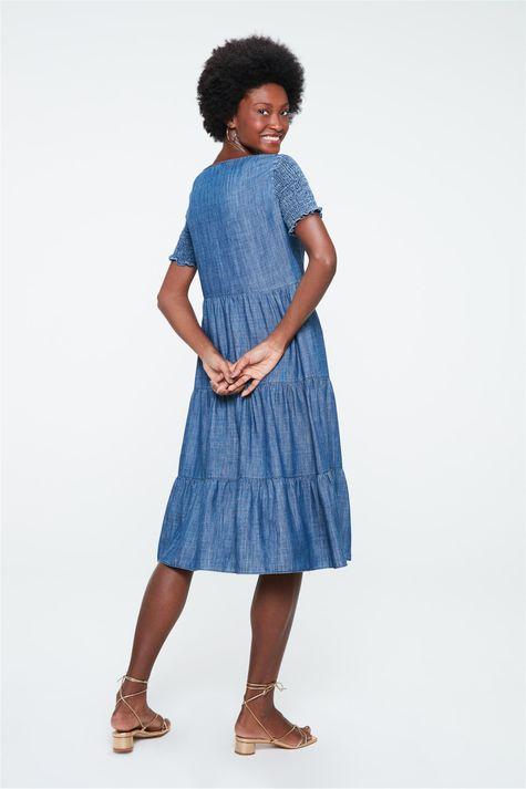 Vestido-Midi-Jeans-com-Recortes-e-Lastex-Detalhe--