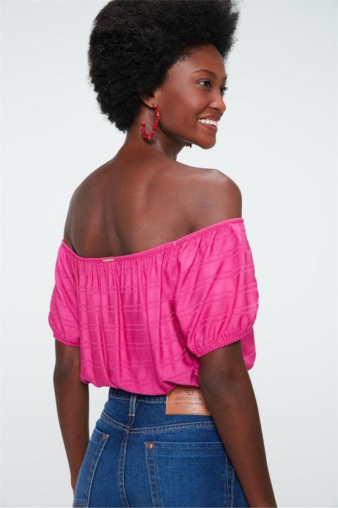 Blusa-Ciganinha-Cropped-com-Textura-Frente--