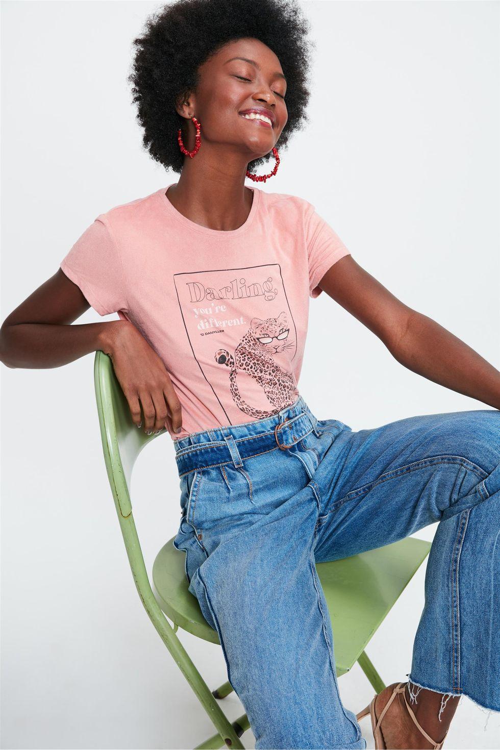 Camiseta-de-Suede-com-Estampa-de-Onca-Frente--