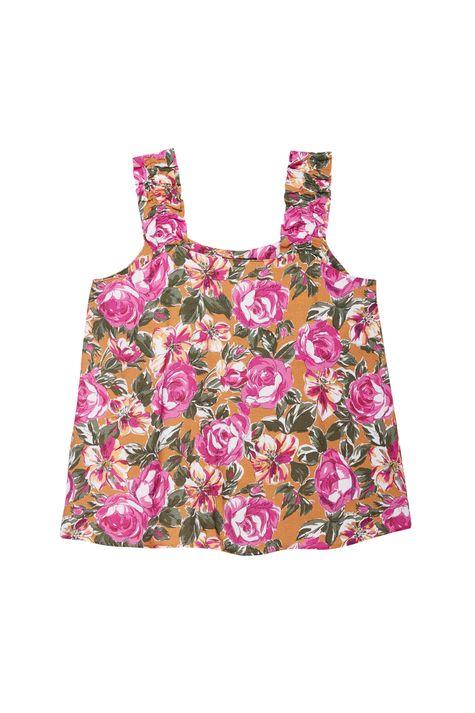 Blusa-sem-Mangas-com-Estampa-Floral-Rosa-Detalhe-Still--