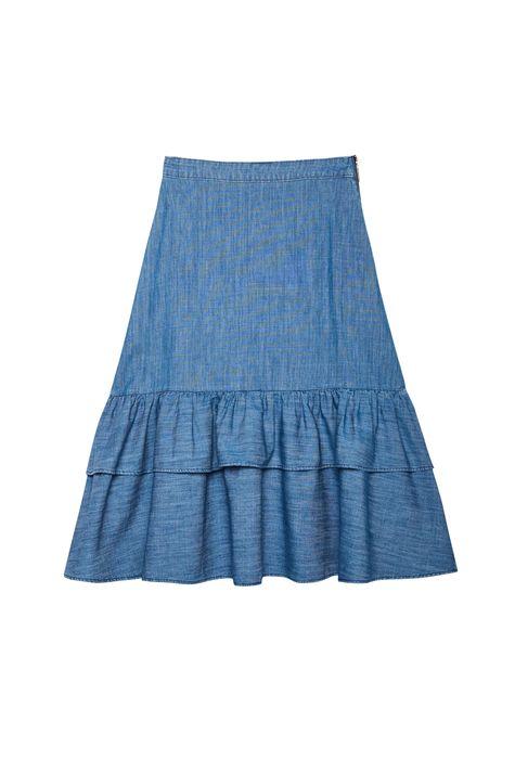 Saia-Jeans-Midi-com-Babados-na-Barra-Detalhe-Still--