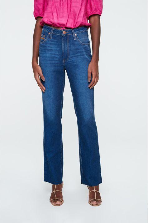 Calca-Jeans-Azul-Medio-Reta-Cintura-Alta-Costas--
