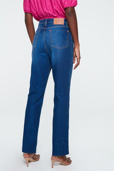 Calca-Jeans-Azul-Medio-Reta-Cintura-Alta-Detalhe--