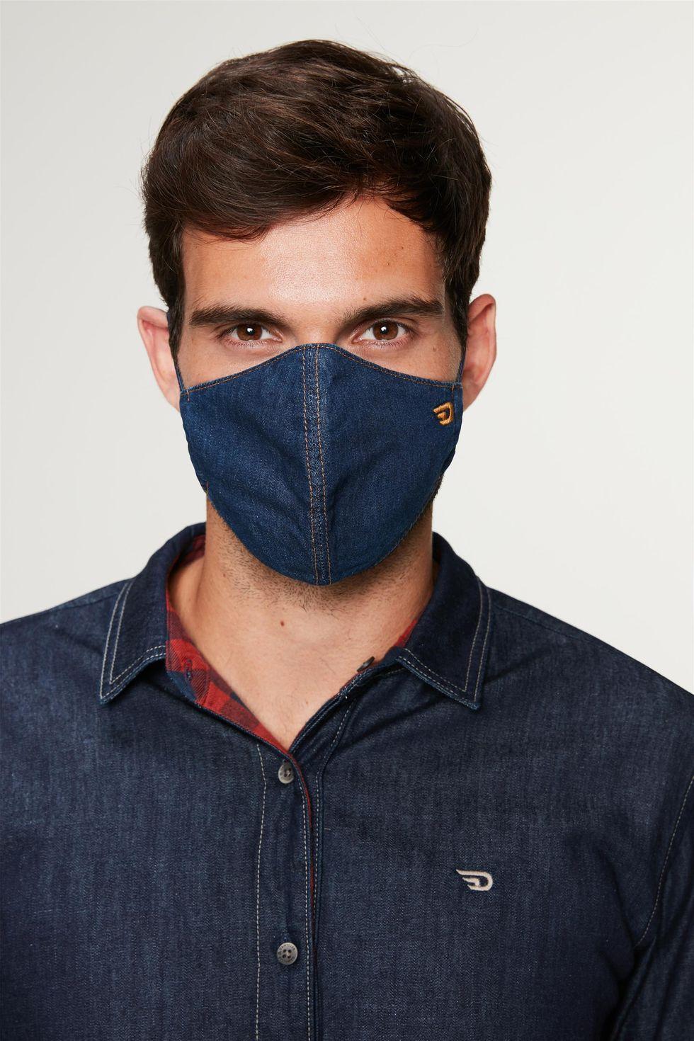 Mascara-Jeans-Azul-Escuro-Lisa-Frente--