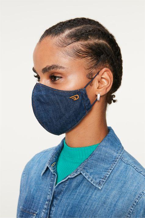 Mascara-Jeans-Azul-Escuro-Lisa-Costas--