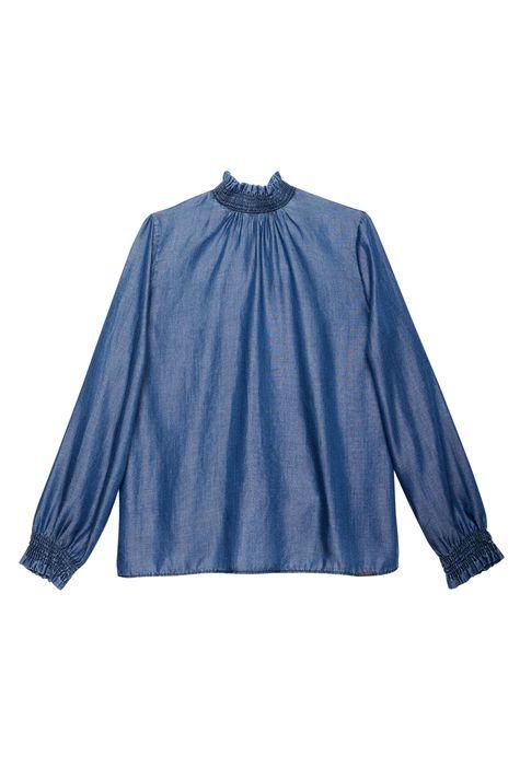 Blusa-Jeans-com-Mangas-e-Gola-Franzida-Detalhe-Still--