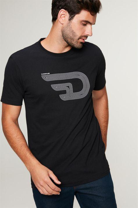 Camiseta-Estampa-de-Logotipo-Masculina-Frente--