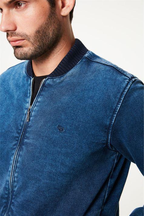 Jaqueta-Jeans-Bomber-Masculina-Detalhe--