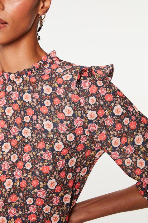 Vestido-Midi-com-Estampa-Floral-Liberty-Detalhe--