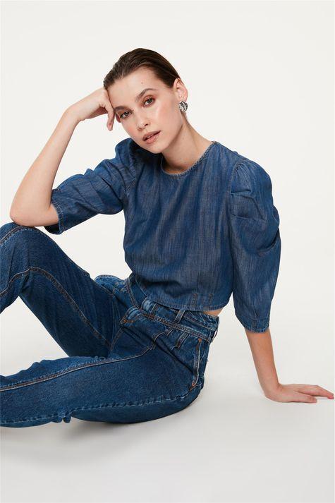 Blusa-Jeans-Cropped-com-Mangas-Bufantes-Frente--