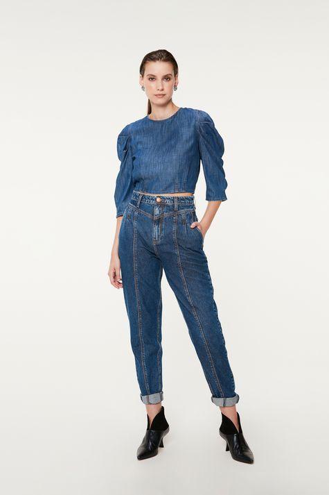 Blusa-Jeans-Cropped-com-Mangas-Bufantes-Detalhe-3--