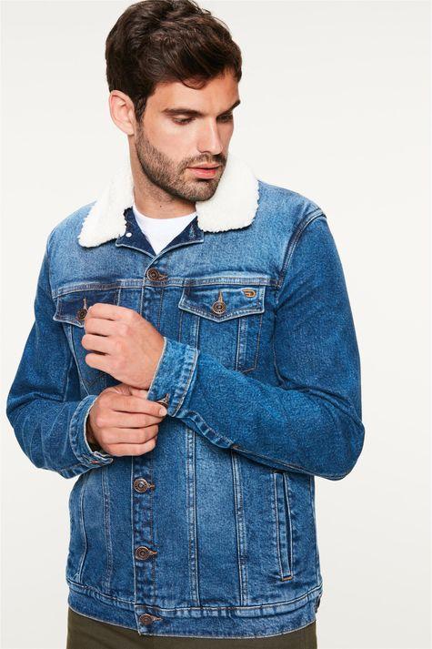 Jaqueta-Jeans-Peluciada-Masculina-Frente--
