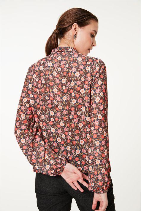 Bata-com-Manga-Bufante-e-Estampa-Floral-Costas--