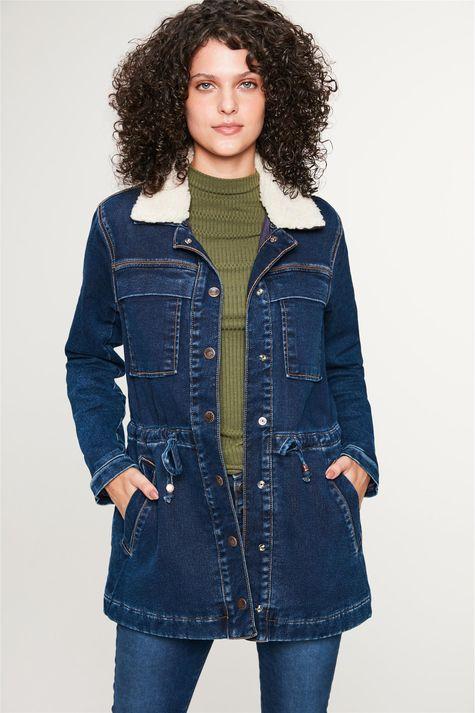 Jaqueta-Jeans-Parka-com-Gola-Peluciada-Frente--
