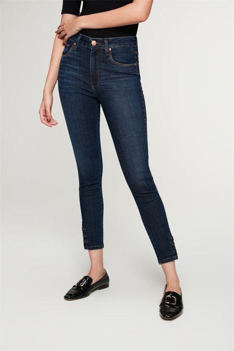 Calca-Jeans-Skinny-com-Botoes-no-Punho-Detalhe--
