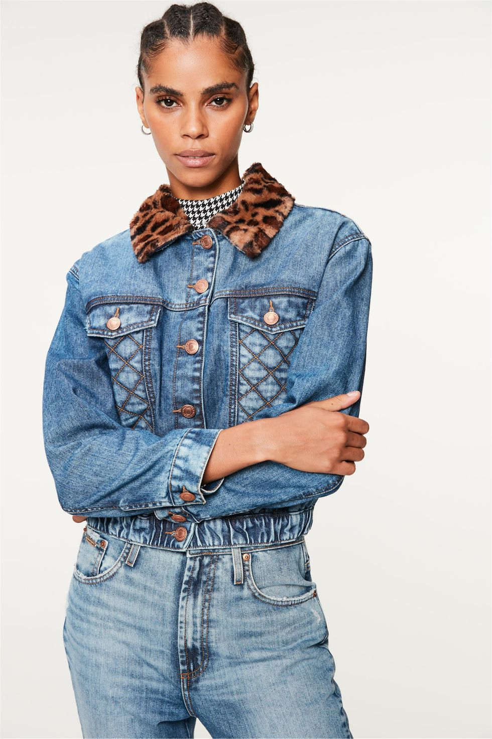 Jaqueta-Jeans-Trucker-Gola-Animal-Print-Frente--