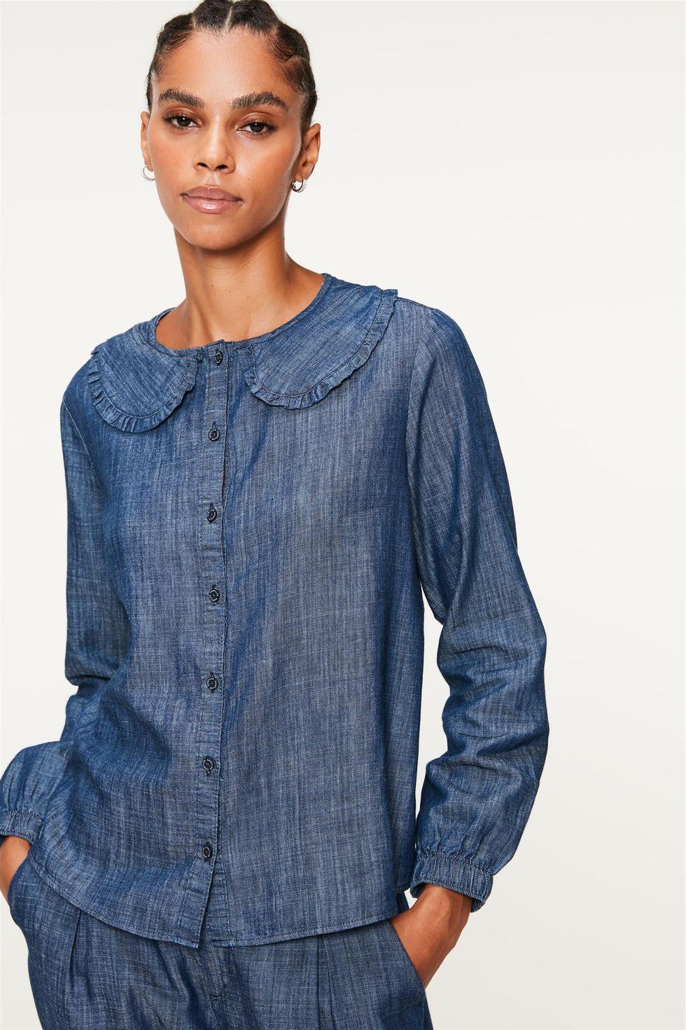 Camisa-Jeans-de-Manga-Bufante-com-Gola-Frente--