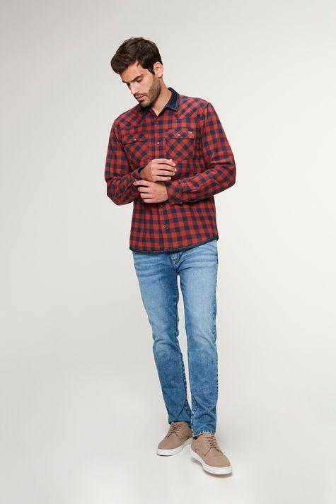 Camisa-Jeans-Dupla-Face-Xadrez-Masculina-Detalhe-1--